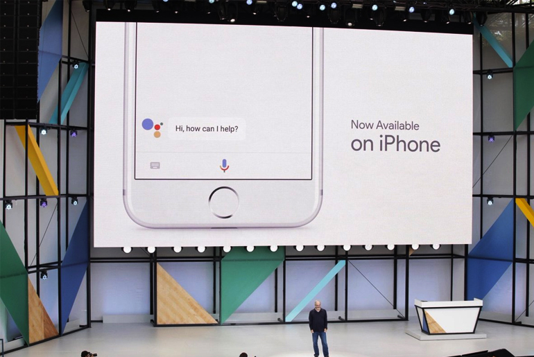 Google Assistant iOS'a Geliyor