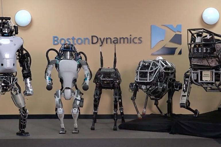 Boston Dynamics El Değiştirdi