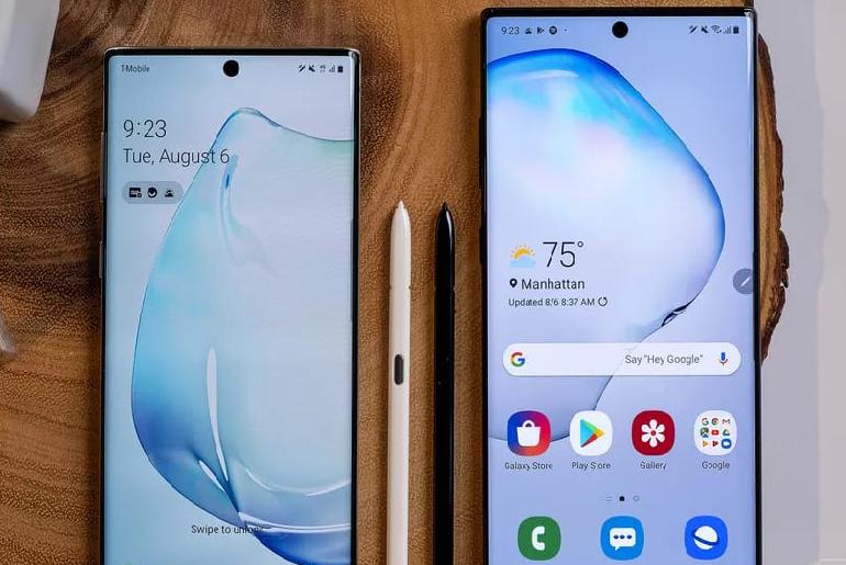 Galaxy Note 10 Tanıtıldı