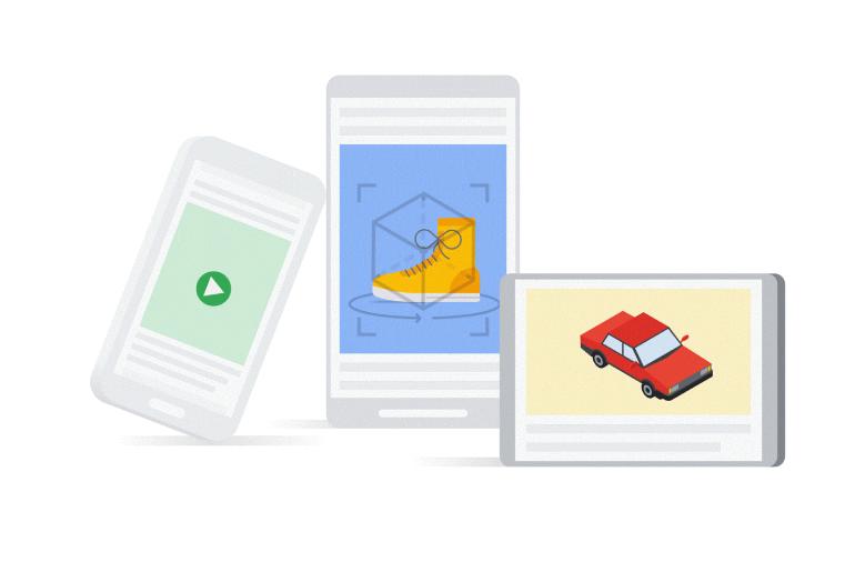 Google'dan 3D Reklamlar!
