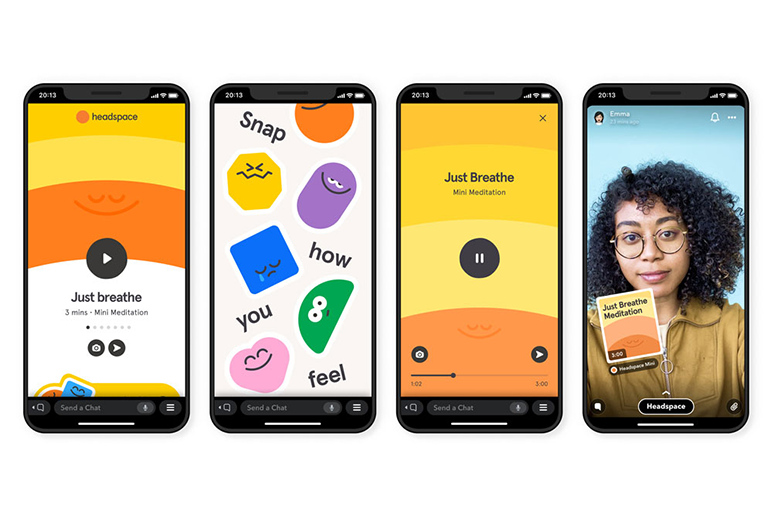 Snapchat x Headspace