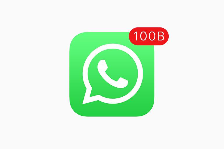 100 Milyar Mesaj