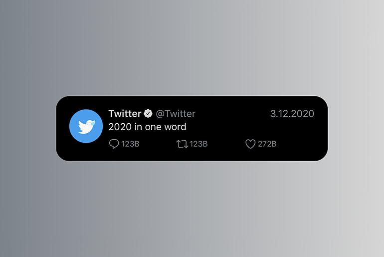 2020: tek kelimede