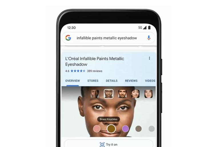 Makyajınız Google'dan