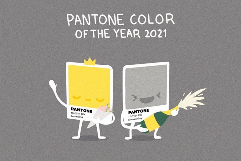 Pantone 2021 renkleri belli oldu!