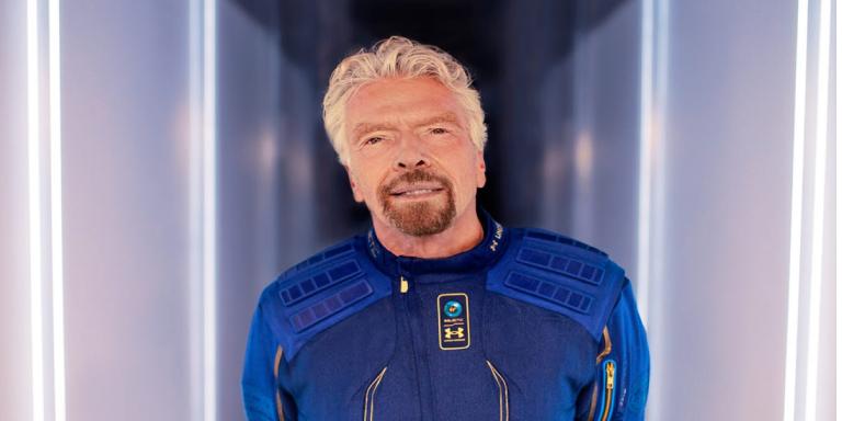 Richard Branson Uzaya Çıktı!
